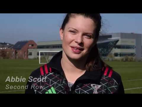 Abbie Scott on the Women's Six Nations