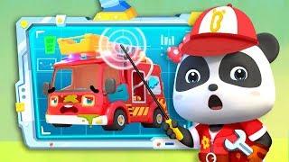 不思議なくるま修理屋さん | 修理屋さんごっこ | ごっこ遊び | 赤ちゃんが喜ぶ歌 | 子供の歌 | 童謡 | アニメ | 動画 | ベビーバス| BabyBus