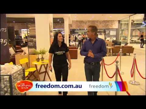 Our New Look Freedom Moore Park Store On The Morning Show