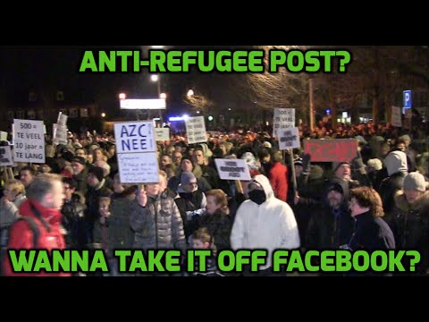 Dutch cops monitor anti-refugee protest calls on social media, ask to delete posts