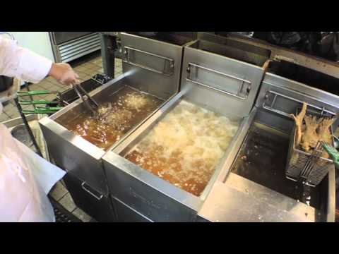 Dooky Chase's fried chicken, behind the scenes