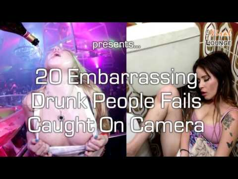 Ultimate Embarrassing Drunk People Fails Caught On Camera
