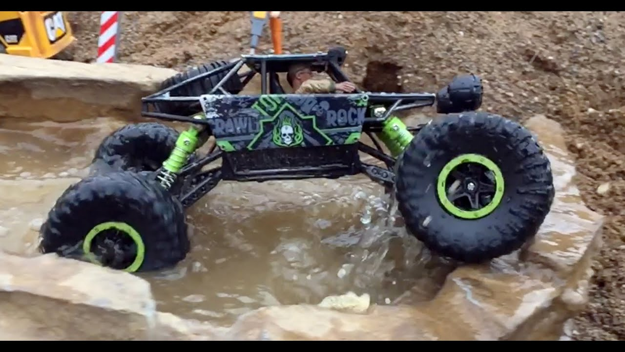 bruder toy kid bruder tunnel project rc rock crawler test. Black Bedroom Furniture Sets. Home Design Ideas