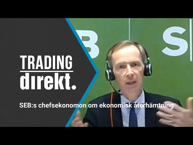 Trading Direkt 2020-12-18: SEB-chefsekonomen Robert Bergqvist om risken för covid-baksmälla