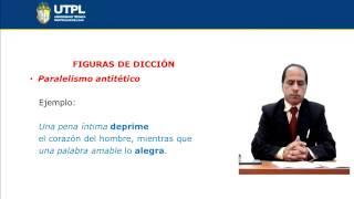 UTPL FIGURAS DE DICCIÓN [(CCEE)(ESTÉTICA Y BELLEZA LITERARIAS)]