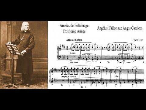Franz Liszt - Angelus! Prière aux anges gardiens (piano)