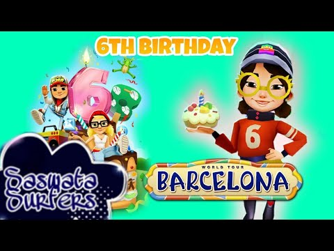 Subway Surfers Barcelona 2019- Chinese Version (6th Anniversary Special)