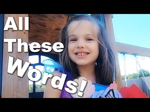 Autistic Girl is Saying More Words