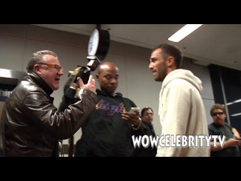 Ray Winstone Talks Smack To Paparazzi At Lax Airport