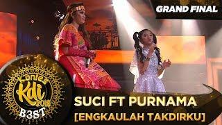 BEST! Penampilan Suci ft Purnama [ENGKAULAH TAKDIRKU] - Grand Final KDI 2019 (18/10)