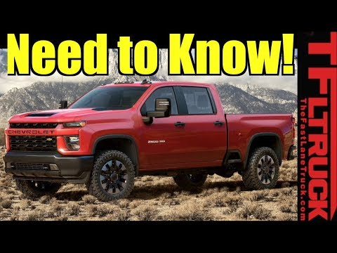 2020 Chevy Silverado HD: Now Tows 35,500 - Here's What You Need To Know!