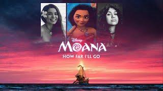 """How Far I'll Go"" DUET Mashup (Auli'i Cravalho vs. Alessia Cara)"