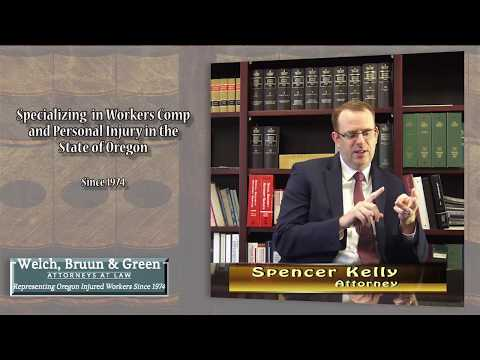 Oregon Worker's Comp info explained by Portland Attorney Spencer Kelly