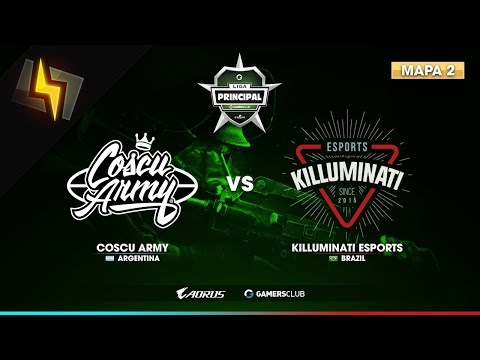 [ES] Coscu Army vs Killuminati eSports | Liga Principal GC de Abril | FINAL | BO3 | Cache