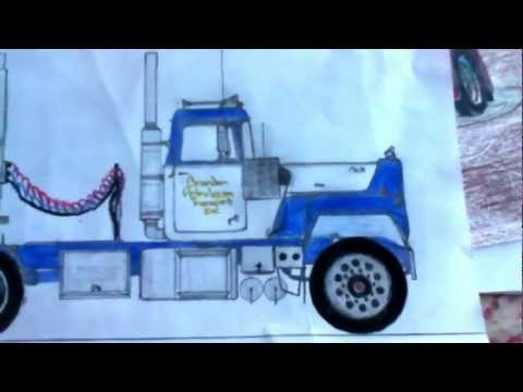 Awesome Truck Drawings