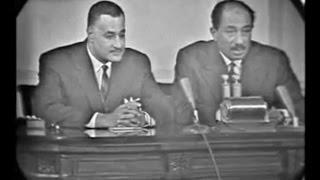 من ذاكرة البرلمان..فيديو نادر لعبد الناصر بمجلس الأمة عقب إعلان ترشحه للرئاسة