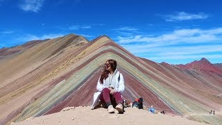 THE TRUTH ABOUT HIKING RAINBOW MOUNTAIN :: PERU DAY 8 :: VLOG 271