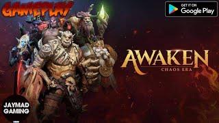 AWAKEN: CHAOS ERA (ENG/CBT) 2020 Online UE Turn-Based Game Mobile-Gameplay