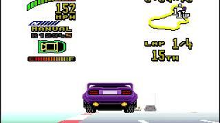"[TAS] SNES Top Gear 2 ""all tracks"" by Technickle in 2:23:40.99"
