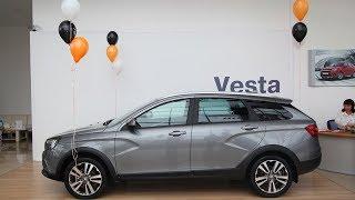 видео Старт продаж LADA Vesta SW Cross и LADA Vesta SW