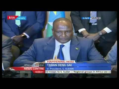 South Sudan First Vice President Deng explains where Riek Machar escaped to