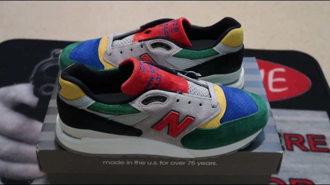 sports shoes b1393 36f74 Todd Snyder x New Balance 998 'Color Spectrum' Sneaker Unboxing