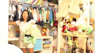 Organizing  Kids Closet - No More Tantrums Over What To Wear