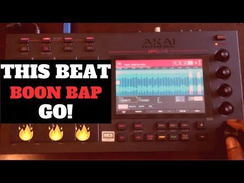 This Beat Hard! Boon Bap Beat Making | Boonie Tunes MPC Live Chopping Block