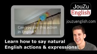 Fun Free Video English Lessons - curtain rod 130805|Learn everyday English online!