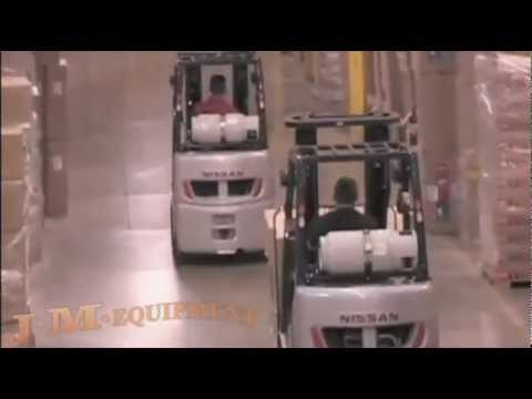 Nissan Forklifts From J.M. Equipment Co. Inc.