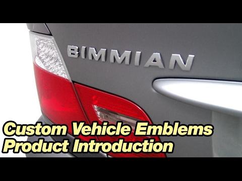BMW Custom Vehicle Emblems - BIMMIAN AUTOMOTIVE INC