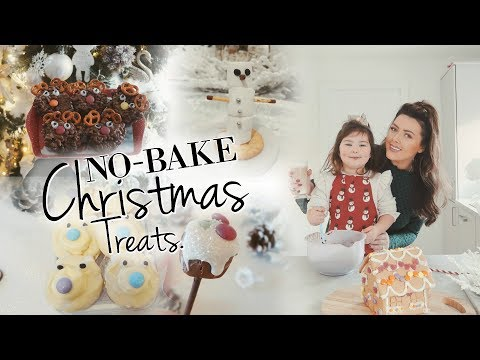 5 EASY NO BAKE CHRISTMAS TREATS FOR KIDS | EASY CHRISTMAS BAKING
