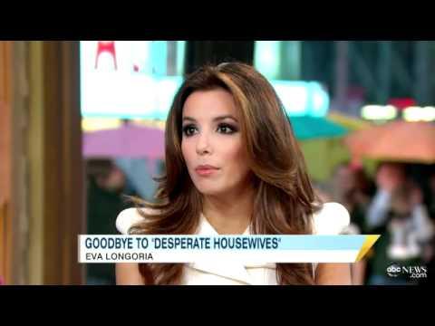 Eva Longoria talks 'Desperate Housewives' on Good Morning America 27-10-11