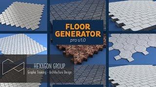 Hướng dẫn Floor Generator 2.0 + Multi Texture và Setting thông số sàn nội thất