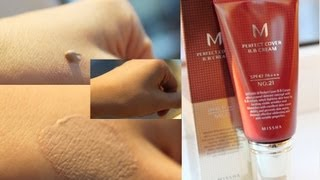 Видео - Отзыв на Missha M PERFECT COVER BB CREAM