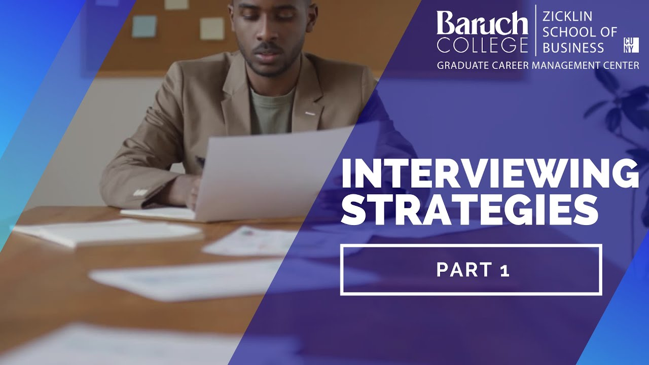 interviewing strategies part  interviewing strategies part 1