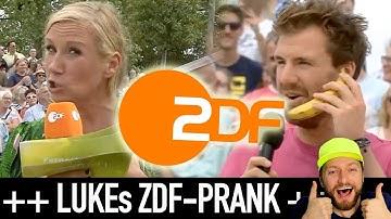 Fernsehgarten-Prank von Luke Mockridge! Kiwi rastet aus + ZDF-Reaktion!