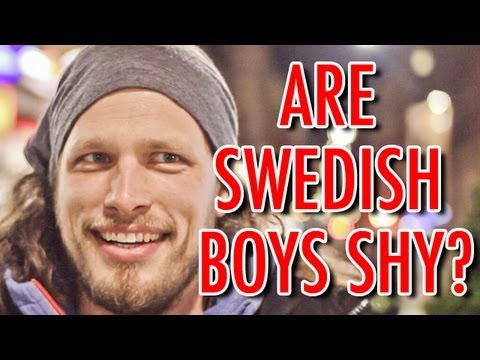 ARE SWEDISH BOYS SHY? [Part 1/3] - YouTube