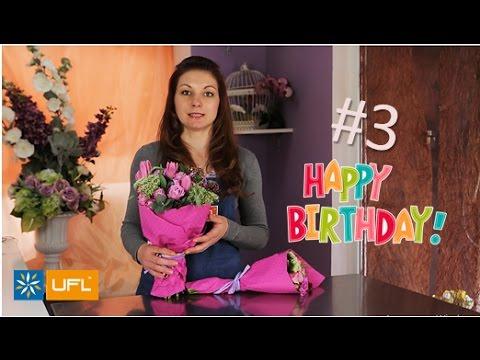 👍 6 советов как выбрать букет на День Рождения! 😉💐 Лайфхаки и советы от U-F-L.net