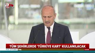 Gambar cover Tüm Türkiye ulaşımda artık 'Türkiye Kart' kullanacak