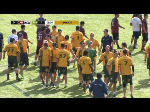 WUGC 2016 - Canada vs Australia Men's Bronze Medal Game