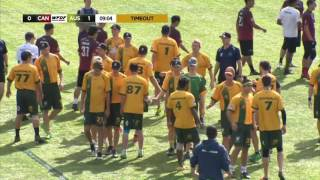 WUGC 2016 - Canada vs Australia Men's Bronze Medal Game