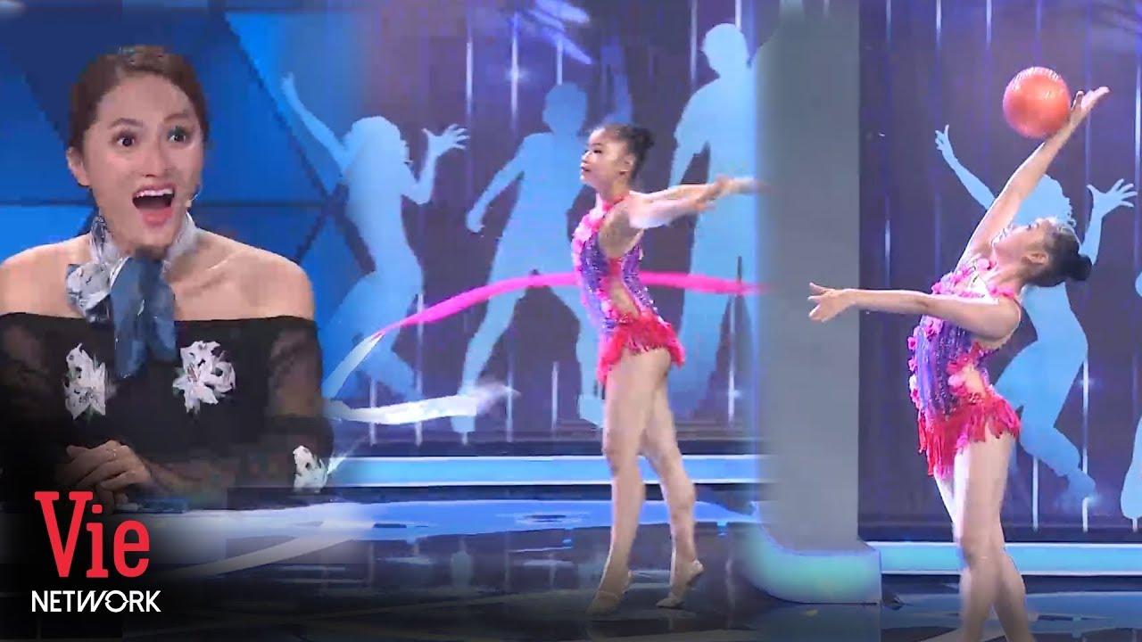 Hương Giang ngưỡng mộ cô bé từng giành huy chương vàng toàn quốc với bộ môn thể dục nghệ thuật