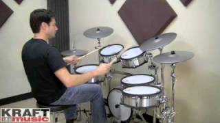 Kraft Music - Roland TD-20SX V Drum Demo with Johnny Rabb
