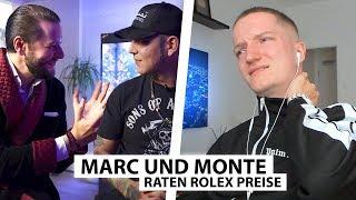 Justin reagiert auf Marc und Monte (Preise erraten) | Reaktion
