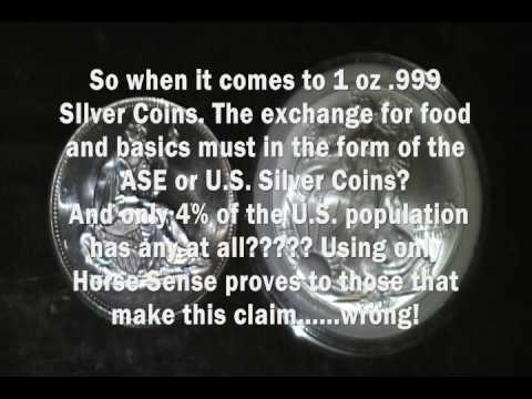 Silver Bullion Coins - Generic .999 Silver Round verses the .999 American Silver Eagle Round
