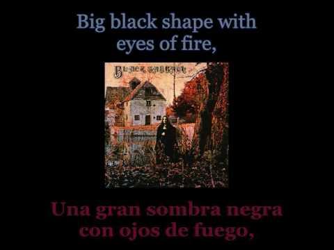 Black Sabbath - Black Sabbath - 01 - Lyrics / Subtitulos en español (Nwobhm) Traducida