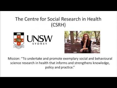Experiences working with the Centre for Social Research in Health