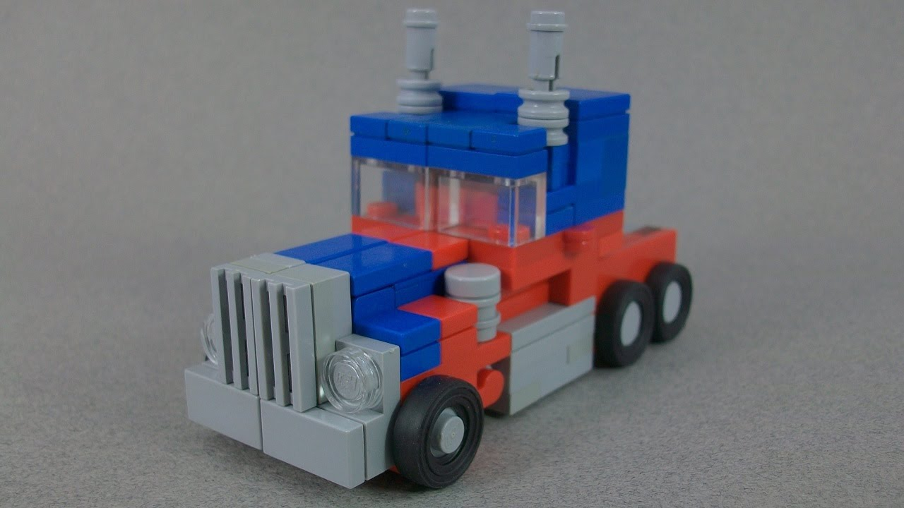 Instructions Lego Transformers Movie Optimus Prime Youtube