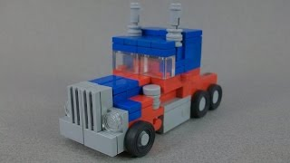 (INSTRUCTIONS) - Lego Transformers Movie Optimus Prime